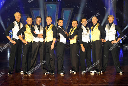 Strictly Come Dancing - Ian Waite, Austin Healy, Brian Fortuna, James Jordan, Darren Bennett, Chris Hollins, Mark Ramprakash, Ricky Groves and Matthew Cutler
