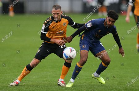 Editorial image of Newport County v Mansfield Town, Sky Bet League 2 - 03 Oct 2020
