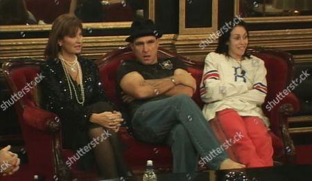 Stephanie Beacham, Vinnie Jones and Heidi Fleiss