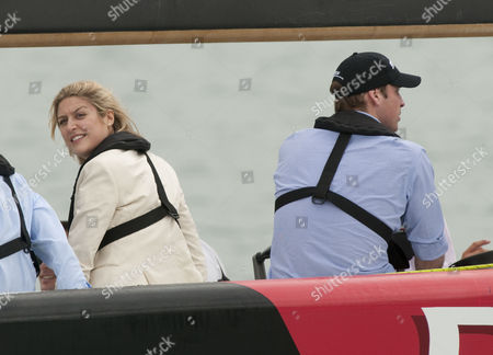 Stock Image of Thea Garwood and Prince William