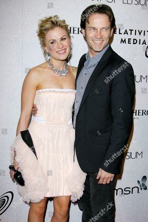 Anna Paquin and Steven Moyer