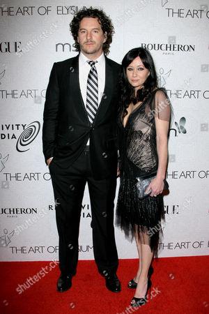Kurt Iswarienko and Shannen Doherty