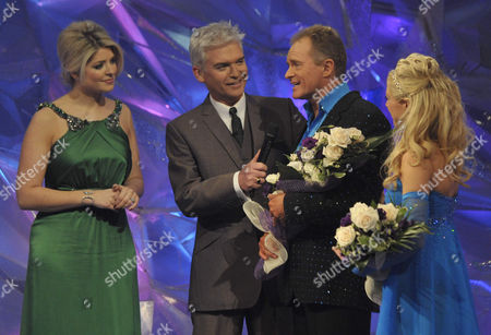 Presenters: Holly Willoughby and Phillip Schofield with Bobby Davro and Molly Moenkhoff