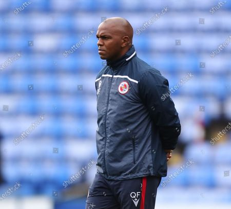 Quinton Fortune of the Reading coaching staff