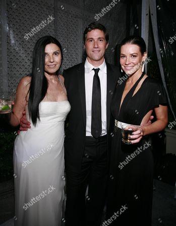 Margherita Ronchi, Matthew Fox and Evangeline Lilly