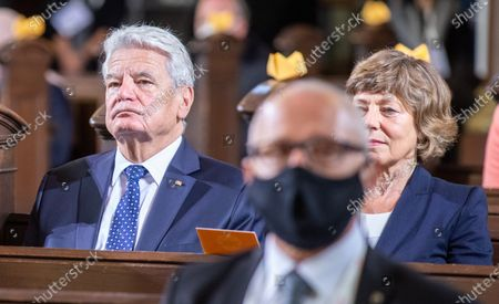 Editorial image of Day of German unity, Ecumenical church service in Potsdam, Germany - 03 Oct 2020