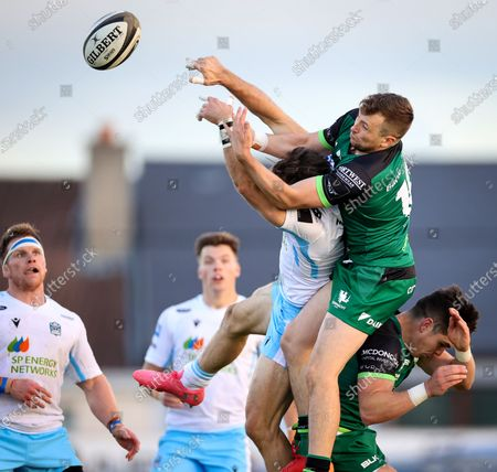 Editorial picture of Guinness PRO14, The Sportsground, Galway City, Co. Galway - 03 Oct 2020