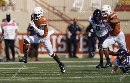 Editorial picture of TCU Texas Football, Austin, United States - 03 Oct 2020