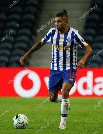 Jesus Manuel Corona of Porto in action during the Portuguese League (Liga NOS) match between FC Porto and Maritimo at Estadio do Dragao, Porto