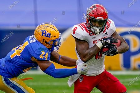 Editorial image of NC State Football, Pittsburgh, United States - 03 Oct 2020