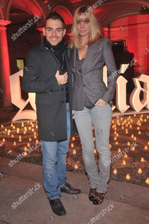 Daniele Bossari and Filippa Lagerback