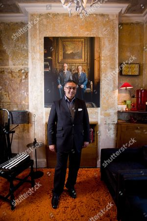 Editorial picture of Rabih Hage at the Rough Luxe Hotel, Kings Cross, London, Britain - 26 Nov 2009
