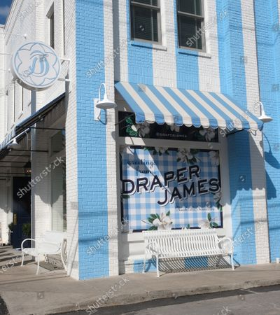 Stock Picture of Draper James boutique owned by Reese Witherspoon in Nashville,TN.