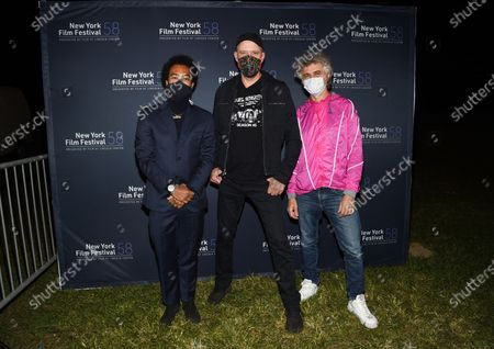 """Editorial picture of 2020 NYFF - """"David Byrne's American Utopia"""" Screening, New York, United States - 03 Oct 2020"""