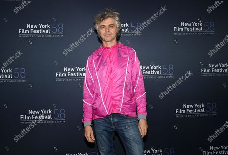 "Musician Mauro Refosco attend the ""David Byrne's American Utopia"" screening at the Queens Drive-In at the New York Hall of Science during the 58th New York Film Festival, in New York"