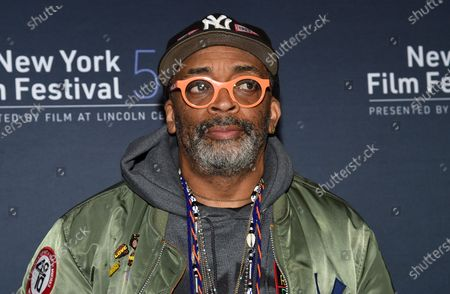 """Director Spike Lee attends the """"David Byrne's American Utopia"""" screening at the Queens Drive-In at the New York Hall of Science during the 58th New York Film Festival, in New York"""