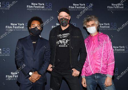 "Editorial photo of 2020 NYFF - ""David Byrne's American Utopia"" Screening, New York, United States - 03 Oct 2020"