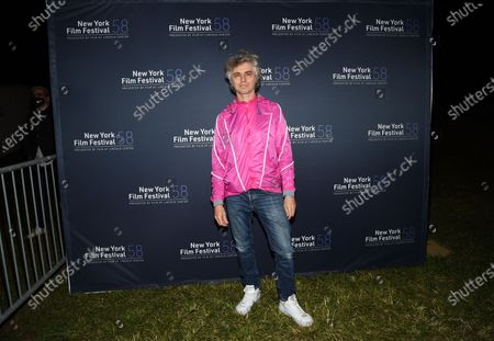 """Musician Mauro Refosco attend the """"David Byrne's American Utopia"""" screening at the Queens Drive-In at the New York Hall of Science during the 58th New York Film Festival, in New York"""
