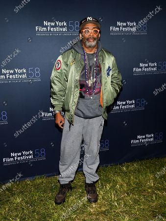 "Director Spike Lee attends the ""David Byrne's American Utopia"" film screening at the Queens Drive-In at the New York Hall of Science during the 58th New York Film Festival, in New York"