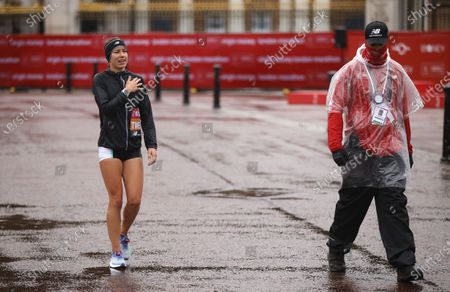 Editorial picture of London Marathon 2020, United Kingdom - 04 Oct 2020
