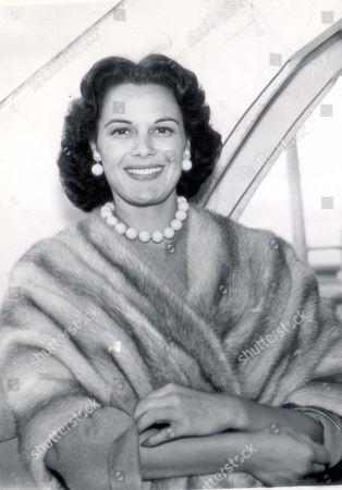 Actress Patricia Medina.