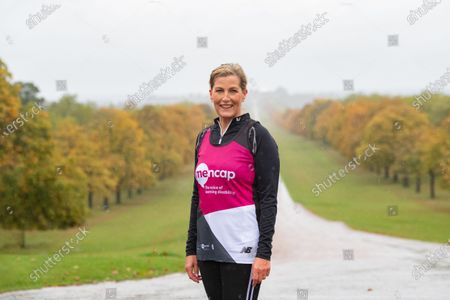 Sophie Countess of Wessex, Patron, Mencap joined for the first 1.5 miles of a virtual London Marathon.