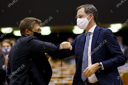 Editorial picture of Plenary Session Vote Of Confidence, Brussels, Belgium - 03 Oct 2020