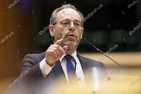 Editorial photo of Plenary Session Vote Of Confidence, Brussels, Belgium - 03 Oct 2020