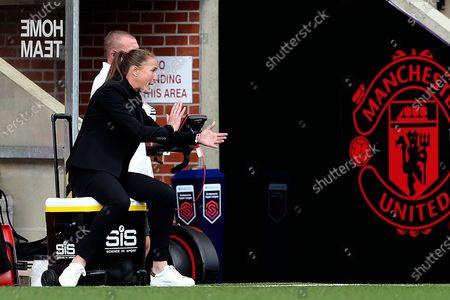 Editorial picture of Manchester United Women v Brighton and Hove Albion Women, FA Women's Super League - 04 Oct 2020