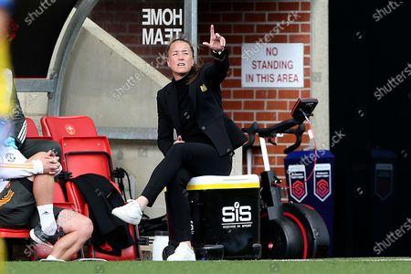 Editorial photo of Manchester United Women v Brighton and Hove Albion Women, FA Women's Super League - 04 Oct 2020