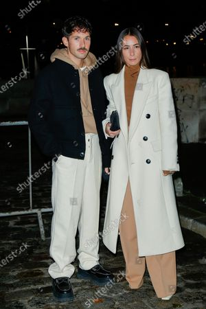 Editorial image of Ami show, Arrivals, Spring Summer 2021, Paris Fashion Week, France - 03 Oct 2020