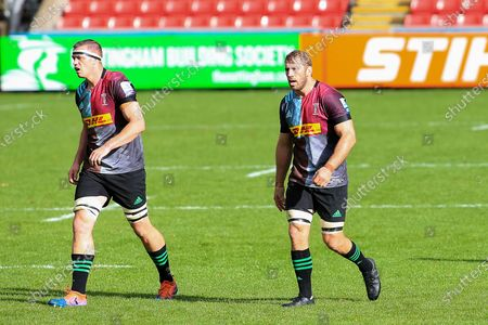 Editorial picture of Leicester Tigers v Harlequins, Gallagher Premiership Rugby - 04 Oct 2020