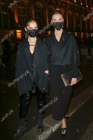 Lola Le Lann and Gaia Weiss