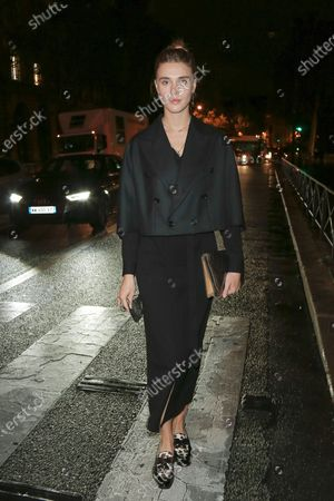 Editorial picture of Yohji Yamamoto show, Arrivals, Spring Summer 2021, Paris Fashion Week, France - 02 Oct 2020