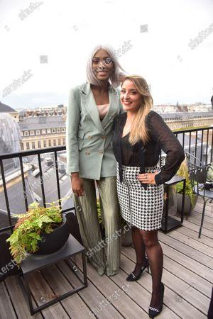 Editorial picture of Charlott presentation, Paris Fashion Week, Spring Summer 2021, France - 30 Sep 2020