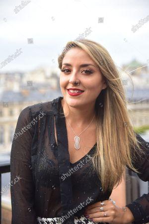 Stock Image of Mademoiselle Valerie Style