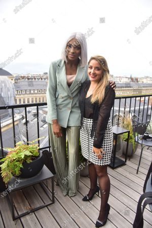 Editorial image of Charlott presentation, Paris Fashion Week, Spring Summer 2021, France - 30 Sep 2020