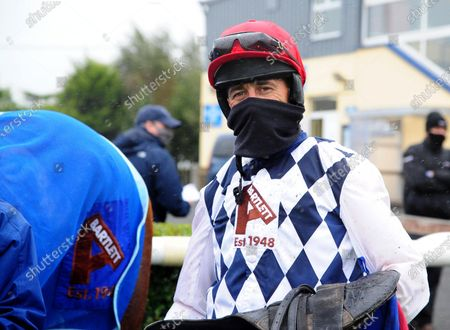 TIPPERARY Jockey Davy Russell after GALVIN won the Like A Butterfly Novice Steeplechase (Grade 3) his first winner since the Galway Festival. Healy Racing