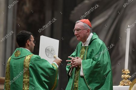 Editorial photo of Holy Mass for the new Vatican Swiss Guards, Vatican City State - 04 October 2020, Rome, Italy - 04 Oct 2020