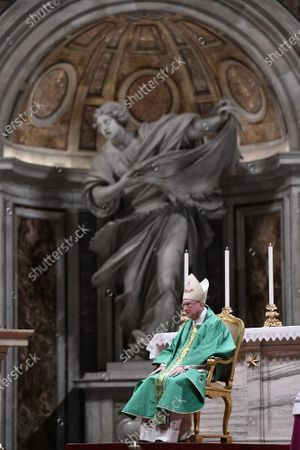 Editorial image of Holy Mass for the new Vatican Swiss Guards, Vatican City State - 04 October 2020, Rome, Italy - 04 Oct 2020