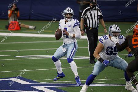 Editorial image of Browns Cowboys Football, Arlington, United States - 04 Oct 2020