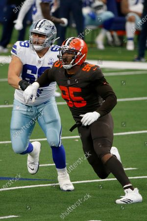 Editorial picture of Browns Cowboys Football, Arlington, United States - 04 Oct 2020