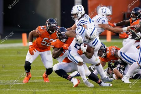 Editorial image of Colts Bears Football, Chicago, United States - 04 Oct 2020