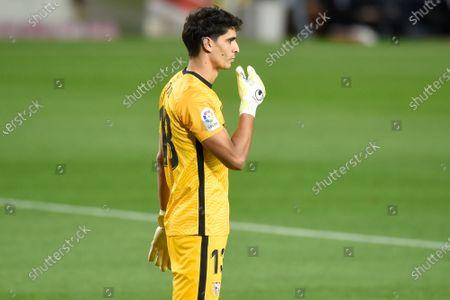 Yassine Bounou of Sevilla FC