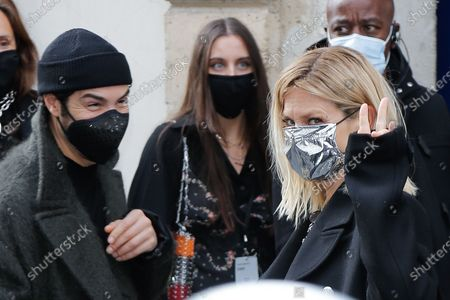 Editorial image of Paco Rabanne show, Arrivals, Spring Summer 2021, Paris Fashion Week  - 04 Oct 2020