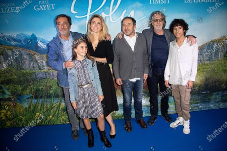 Editorial picture of 'Poly' film premiere, UGC Normandie, Paris, France - 04 Oct 2020