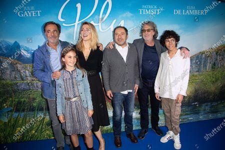 Nicolas Vanier, Elisa de Lambert, Julie Gayet, Patrick Timsit, Francois Cluzet and Orian Castano