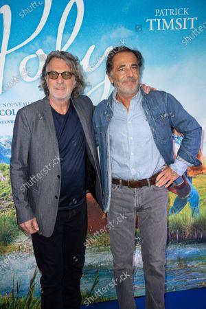Francois Cluzet and Nicolas Vanier