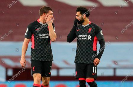 Editorial picture of Aston Villa vs Liverpool FC, Birmingham, United Kingdom - 04 Oct 2020
