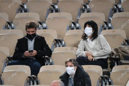 Editorial image of French Open, Sightings, Roland Garros, Paris, France - 04 Oct 2020